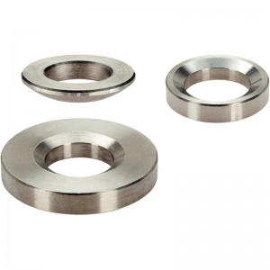 EH 23050.: Rondelle sferiche / Rosette coniche ‒ come DIN 6319, acciaio inox