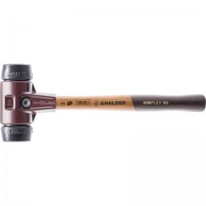 EH 3002.: Mazzuoli SIMPLEX ‒ con sede in acciaio da getti e manico in legno