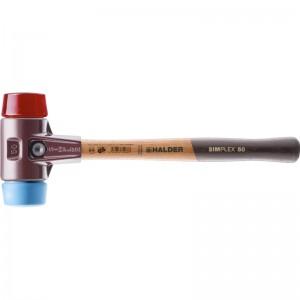 EH 3016.: Mazzuoli SIMPLEX ‒ con sede in acciaio da getti e manico in legno