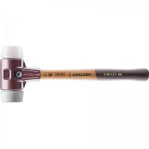 EH 3037.: Mazzuoli SIMPLEX ‒ con sede in acciaio da getti e manico in legno