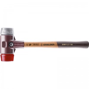 EH 3069.: Mazzuoli SIMPLEX ‒ con sede in acciaio da getti e manico in legno