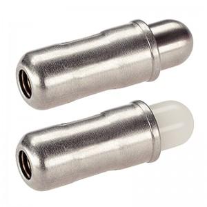 EH 22080.: Posizionatori ‒ lisci, con colletto e puntale
