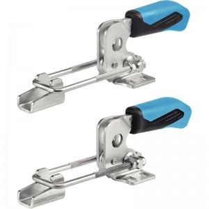 EH 23330.: Bloccaggi a ginocchiera a gancio ‒ con base orizzontale