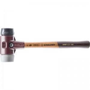 EH 3023.: Mazzuoli SIMPLEX ‒ con sede in acciaio da getti e manico in legno