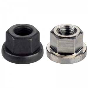 EH 23080.: Collar Nuts ‒ DIN 6331 (height 1,5 d)