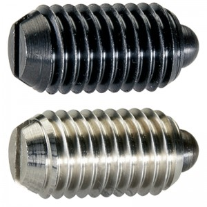 EH 22050.: Spring Plungers ‒ with pin and slot