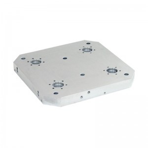 EH 1990.: Base Plates ‒ for 4 double acting connecting elements