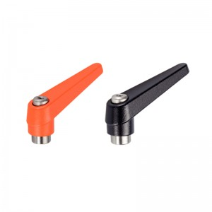 EH 24390.: Adjustable Clamping Levers ‒ inner parts from stainless steel, with female thread