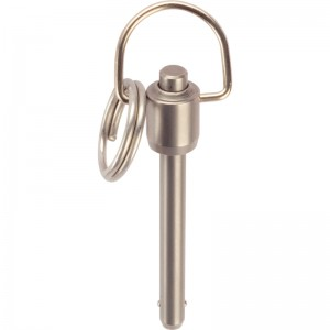 EH 4213.: Quick Release Pin with Ring Handle ‒ single acting - according to NASM / MS 17987