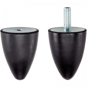 EH 25150.: Rubber Endstop Buffers ‒ parabolic
