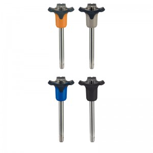 EH 22370.: Ball Lock Pins ‒ self-locking, with combination handle